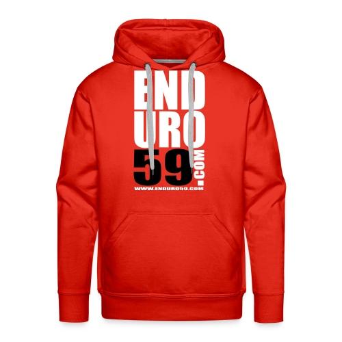 Sweet Rouge - Sweat-shirt à capuche Premium pour hommes