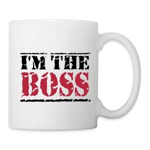 mok met i am the boss bedrukking. - Mok