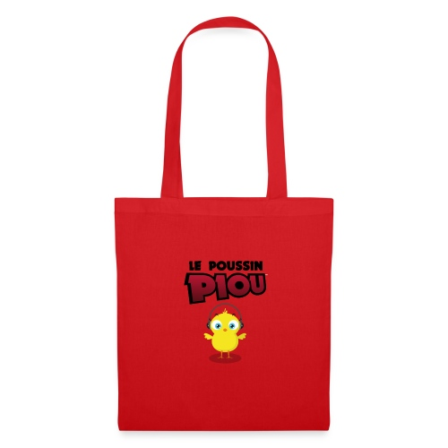Sac Poussin Rouge - Tote Bag