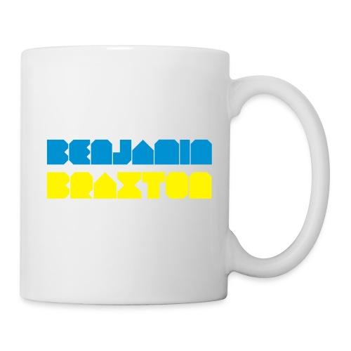 WHITE CUP BRAXTON - Mug blanc