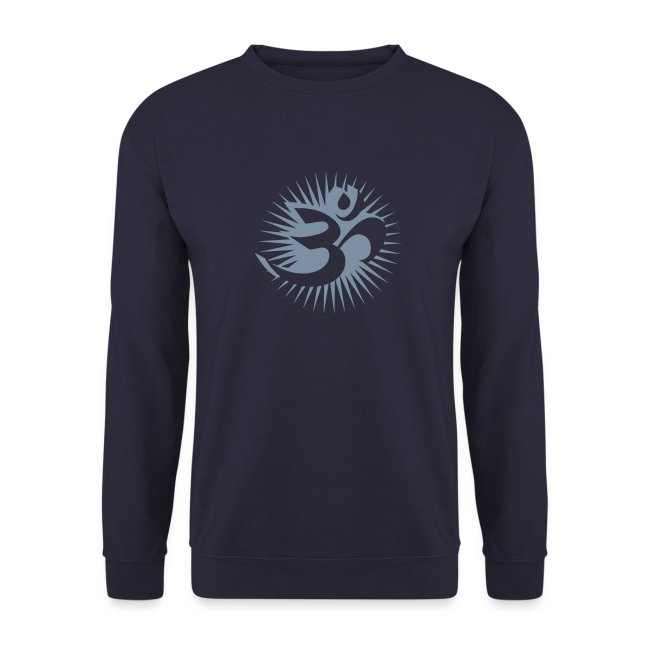 OM 3D silver - Pullover