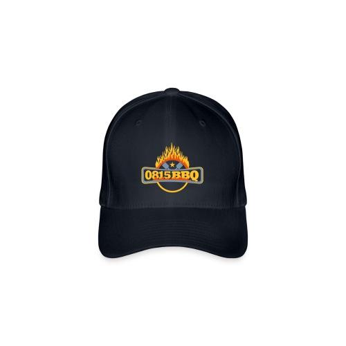 0815BBQ-Cap - Flexfit Baseballkappe