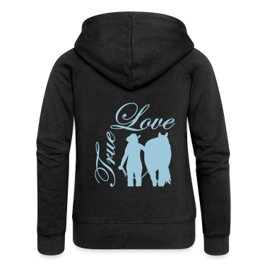 True Love Cowgirl Horse Hoodies & Sweatshirts