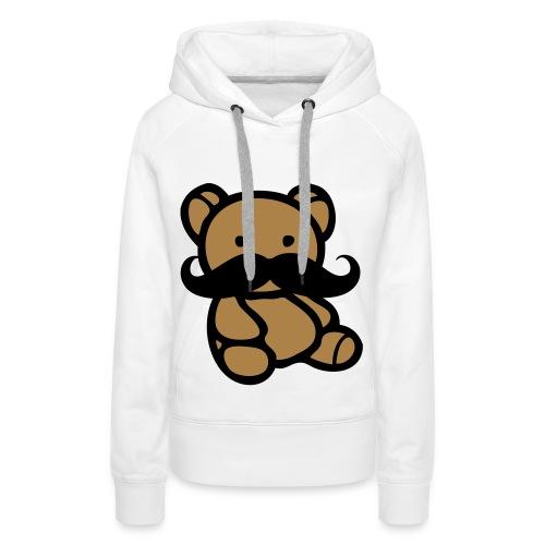 Swagg Onn Teddybeer - Vrouwen Premium hoodie