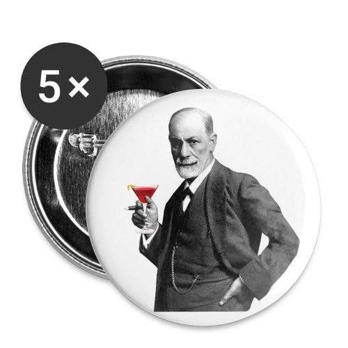 Freud Button - Buttons mittel 32 mm (5er Pack)