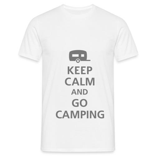 T-shirt tegen campers - Mannen T-shirt