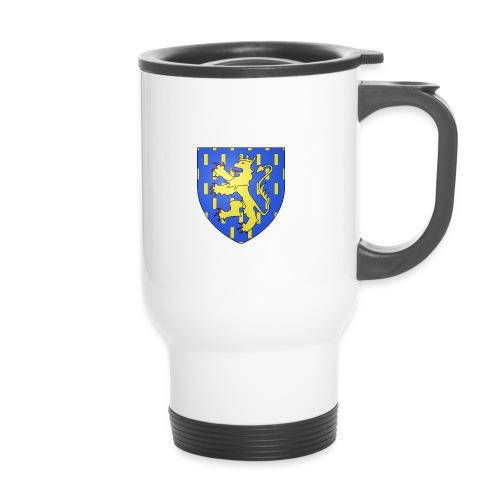 Mug thermos blason Franche-Comté - Mug thermos