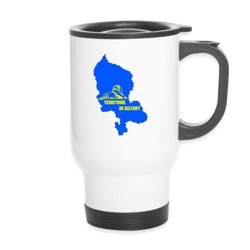 Mug thermos blason carte Territoire de Belfort - Mug thermos