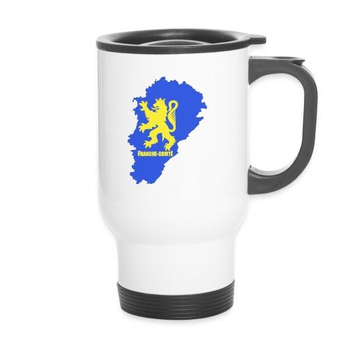 Mug thermos carte Franche-Comté - Mug thermos