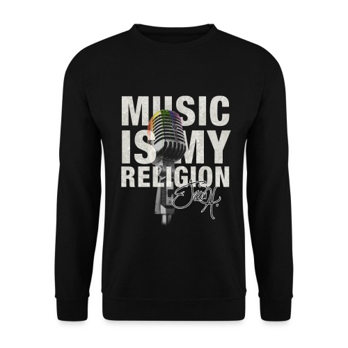 Music Is My Religion - Crewneck - Männer Pullover