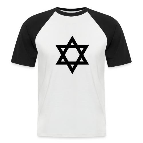 Koszulka męska - Koszulka bejsbolowa męska