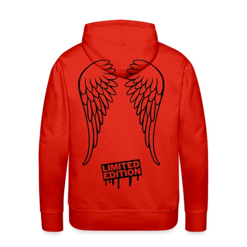 Hoodie with Black Wings  - Felpa con cappuccio premium da uomo