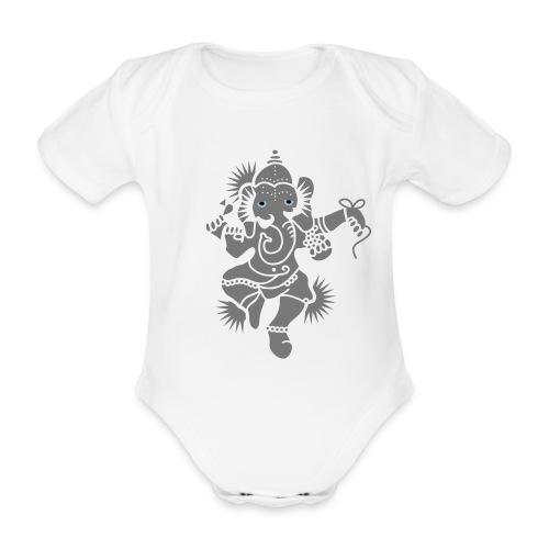 Ganesh - Baby Bio-Kurzarm-Body