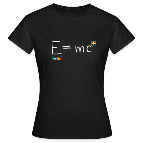 E=mc White - Women's T-Shirt