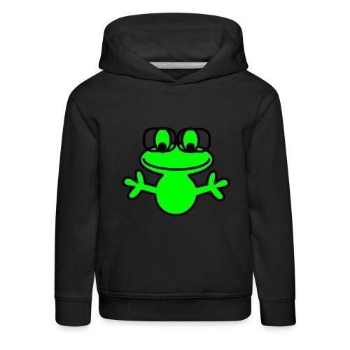 NerdFrosch_individual - Kinder Premium Hoodie