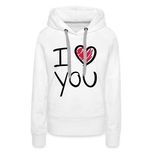 i love... - Vrouwen Premium hoodie