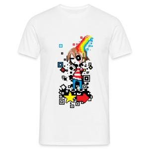 Pixel boy - Men's T-Shirt