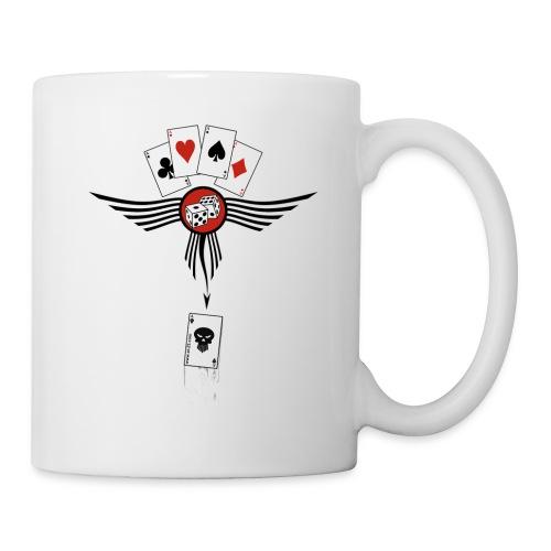 Mug Poker Death - Mug blanc