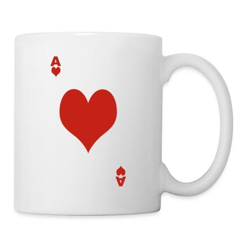 Mug As de Coeur - Mug blanc