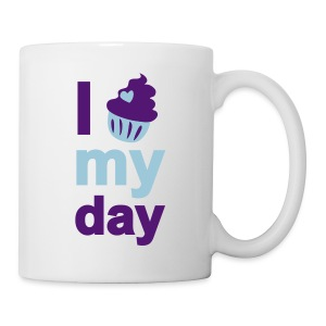 i cupcake my day - Tasse
