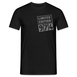 Limited Edition 974 Noir - T-shirt Homme