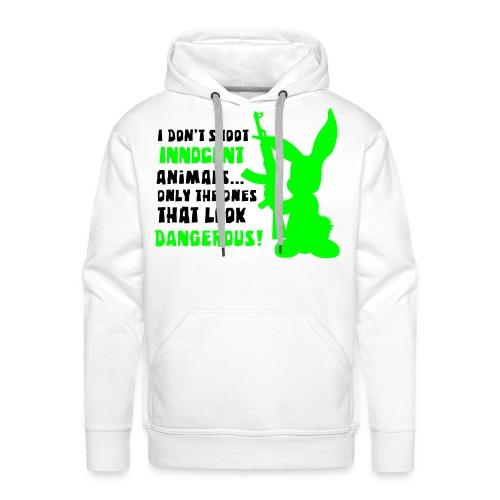Crazy Rabbit - Sweat-shirt à capuche Premium pour hommes