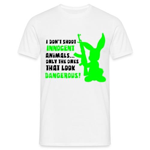 Crazy Rabbit - T-shirt Homme