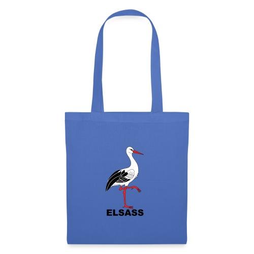 Sac en tissu cigogne Elsass - Tote Bag