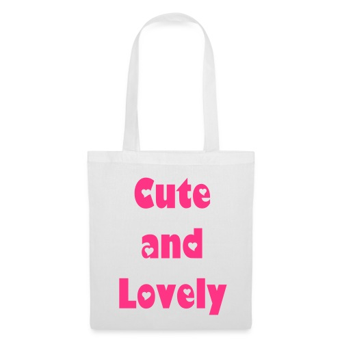 Cute and Lovely - Tote Bag