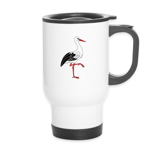 Mug thermos cigogne - Mug thermos