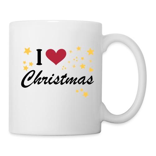 Tasse I Love Christmas - Tasse