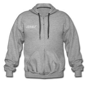 Inhale freestyle Hoodie - Men's Premium Hooded Jacket