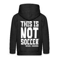 Hoodies ~ Kids' Premium Zip Hoodie ~ This Is Not Soccer