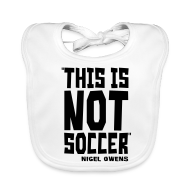 Baby Bibs ~ Baby Organic Bib ~ This Is Not Soccer