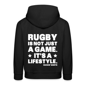 Rugby Is Not Just a Game - Kids' Premium Hoodie