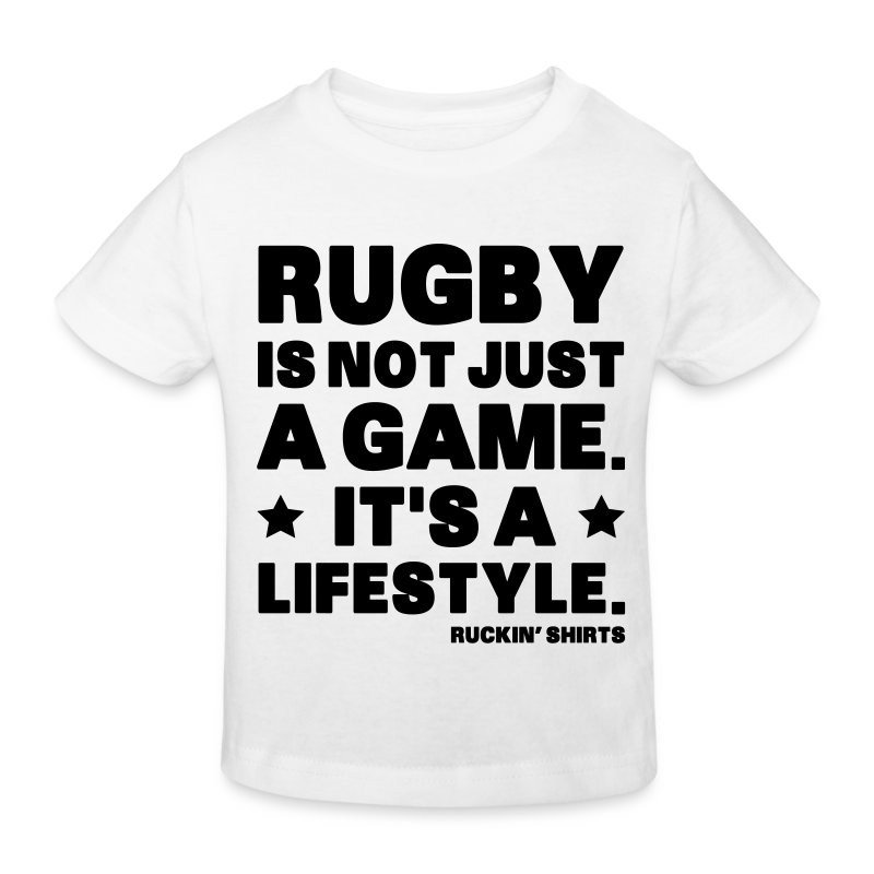 Rugby Is Not Just a Game - Kids' Organic T-shirt