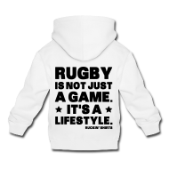 Hoodies ~ Kids' Premium Hoodie ~ Rugby Is Not Just a Game