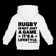 Hoodies ~ Kids' Premium Hoodie ~ Rugby Is Not Just a Game