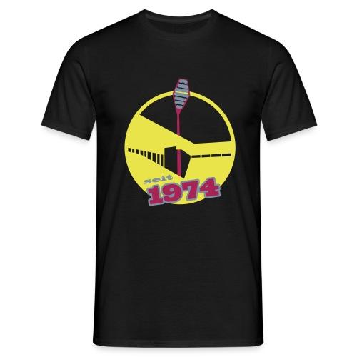 WS 1974 -schwarz- - Männer T-Shirt
