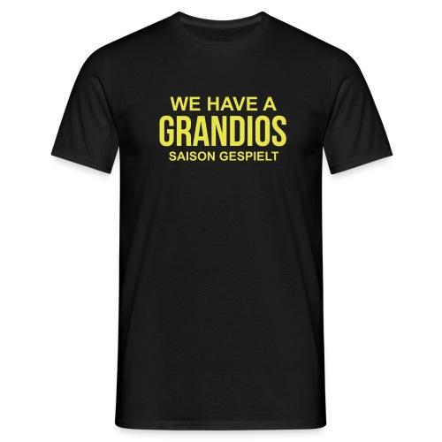 WE HAVE -schwarz- - Männer T-Shirt