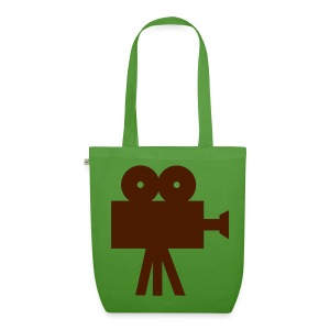 Ebony Road Bag. Brown and Green - EarthPositive Tote Bag
