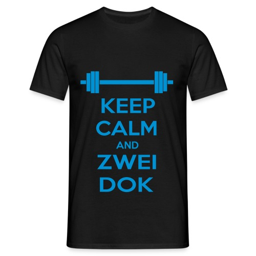 Keep Calm and Zwei Dok - Maglietta da uomo