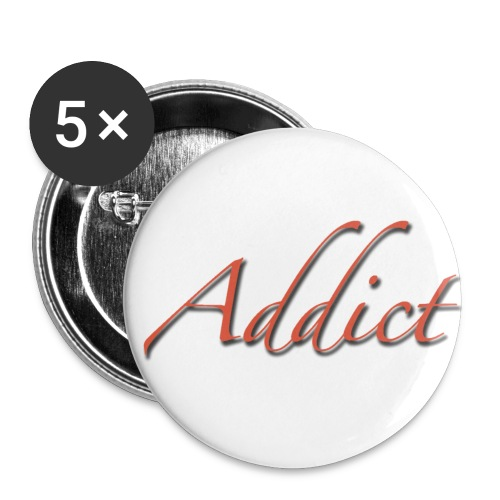 Pin's Cerrone ADDICT - Badge grand 56 mm