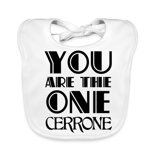 Bib Cerrone You Are The One - Bavoir bio Bébé