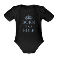 Baby Bodysuits ~ Baby Bodysuit ~ Gin O'Clock Born To Rule Baby One-Piece