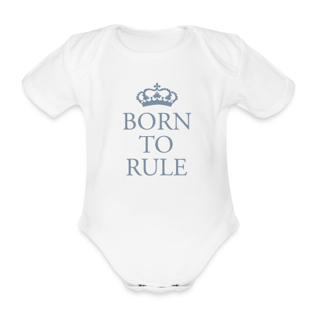 Gin O'Clock Born To Rule Baby One-Piece