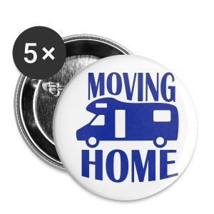 Badge - Moving Home - Buttons large 56 mm
