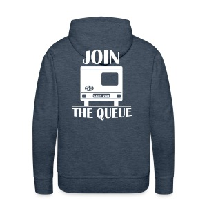 Hoodie - Join the Queue - Men's Premium Hoodie