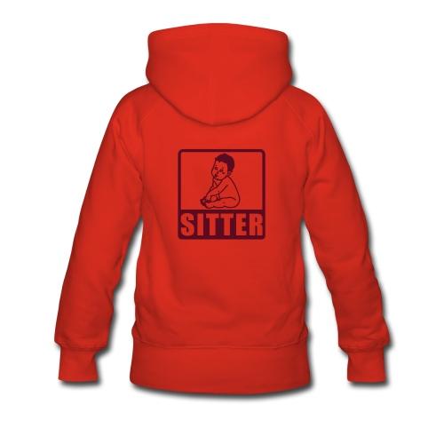 Kapuzenpullover Babysitter - Frauen Premium Hoodie