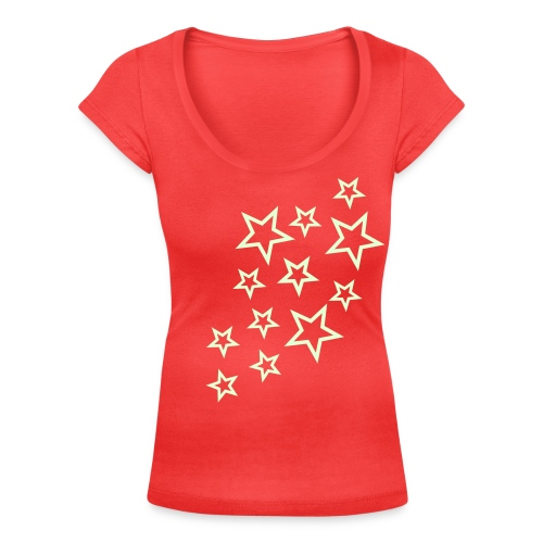 Scoop neck - Stars - Women's Scoop Neck T-Shirt